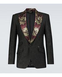 Dolce & Gabbana Exclusivité Mytheresa - Blazer en jacquard - Noir