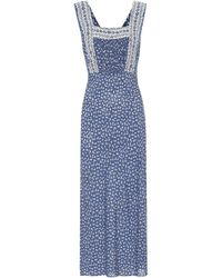 Polo Ralph Lauren Exclusive To Mytheresa – Floral Maxi Dress - Blue
