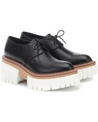 Stella McCartney Elyse Derby Shoes - Black