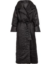 Norma Kamali Sleeping Bag Puffer Coat - Black