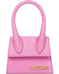 Jacquemus Le Chiquito Leather Tote - Pink