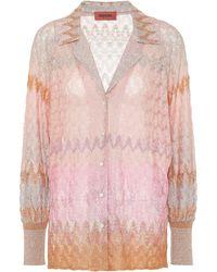 Missoni Knit Shirt - Pink