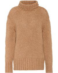 Valentino - Knitted Turtleneck Sweater - Lyst
