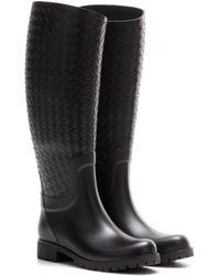 Bottega Veneta Rubber Boots - Brown