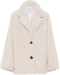 Stand Studio Merilyn Faux-shearling Jacket - White
