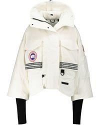 Canada Goose X Angel Chen chaqueta de plumas Snow Mantra - Blanco