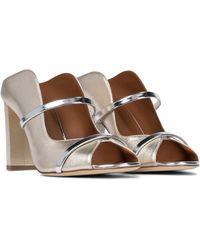 Malone Souliers Norah 85 Leather Sandals - Multicolour