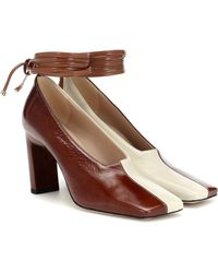 Wandler - Isa Leather Pumps - Lyst