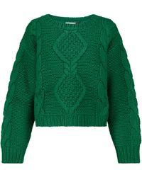 RIXO London Pullover Darlene aus Strick - Grün