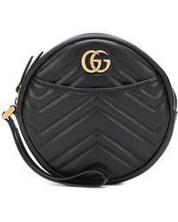 Gucci - Portafoglio GG Marmont con zip - Lyst