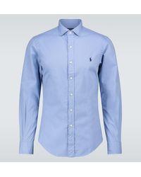 Polo Ralph Lauren Chemise en coton - Bleu