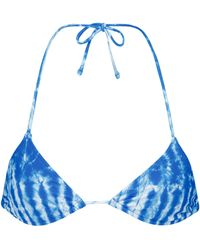 Tropic of C - Top de bikini Praia con tie-dye - Lyst