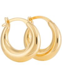 Sophie Buhai Argollas Essential Small de oro vermeil de 18 ct - Metálico