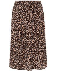Baum und Pferdgarten Senga Leopard-print Midi Skirt - Multicolour