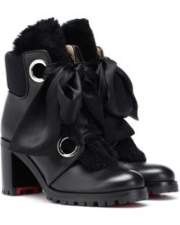 Christian Louboutin - Jenny From The Alps 70 Ankle Boots - Lyst