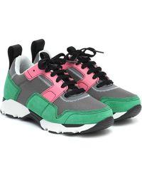 Marni Techno Fabric Low-top Sneakers - Green