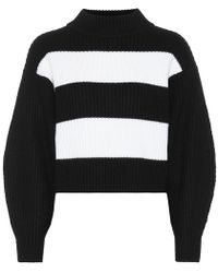 Tibi - Pullover a righe in lana - Lyst