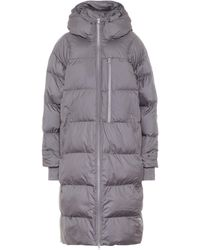 adidas By Stella McCartney Quilted Puffer Coat - Gray