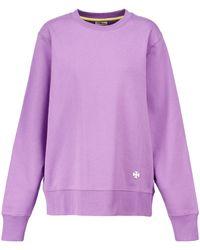 Tory Sport Sweatshirt aus Baumwolle - Lila