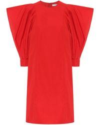 Givenchy - Vestido corto de algodón - Lyst