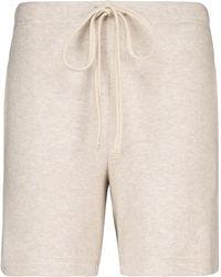 Velvet Janey Jersey Shorts - Natural