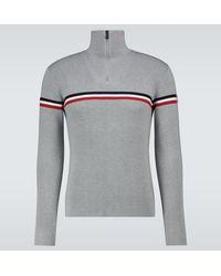 Fusalp Wengen Half-zipped Sweater - Grey