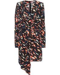 Givenchy Mini Print Dress - Black
