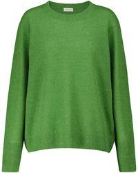 Dries Van Noten Jersey en mezcla de alpaca - Verde