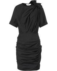 Étoile Isabel Marant Robe en laine Oria - Noir