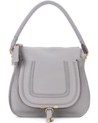 Chloé - Marcie Leather Shoulder Bag - Lyst