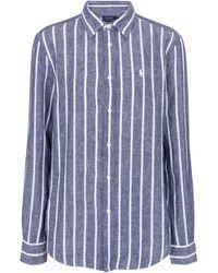 Polo Ralph Lauren Hemd aus Leinen - Blau