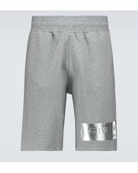 Givenchy Sweatshorts aus Baumwolle - Grau