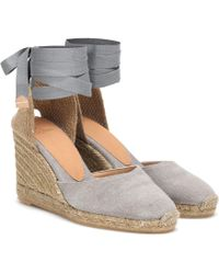 Castaner Carina Canvas Wedge Espadrilles - Multicolour