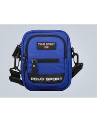 Polo Ralph Lauren Umhängetasche Polo Sport - Blau