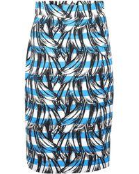Prada Banana-printed Cotton Skirt