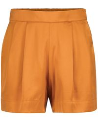 Asceno Shorts Zurich aus Seide - Orange