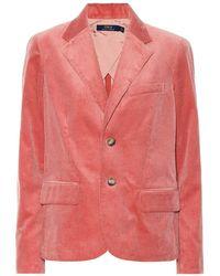 Polo Ralph Lauren Blazer in velluto - Multicolore