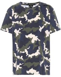 The Upside T-shirt in cotone a stampa camouflage - Multicolore