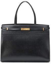 Saint Laurent - Manhattan Large Leather Tote - Lyst