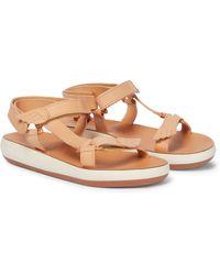 Ancient Greek Sandals Sandali Poria Comfort in pelle - Neutro