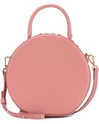 Mansur Gavriel Circle Leather Crossbody Bag - Pink