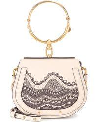 992488e7b06 Chloé - Exclusive To Mytheresa. Com – Small Nile Leather Crossbody Bag -  Lyst