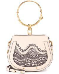 Chloé - Exclusive To Mytheresa. Com – Small Nile Leather Crossbody Bag - Lyst