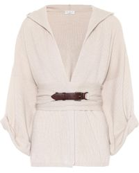 Brunello Cucinelli - Hooded Cashmere Sweater - Lyst