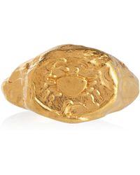Alighieri Vergoldeter Ring Cancer aus Sterlingsilber - Mettallic