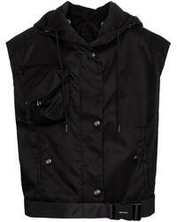 Prada Re-nylon Gabardine Vest - Black