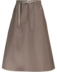 Nike Acg Trail Maxi Skirt - Gray