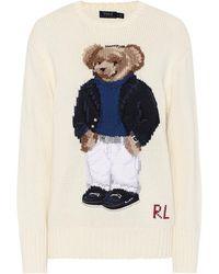 Polo Ralph Lauren Pullover aus Baumwolle - Blau