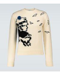 Lanvin - Pullover Corto Maltese aus Wolle - Lyst