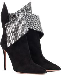 Aquazzura - Ankle Boots Night Fever 105 - Lyst
